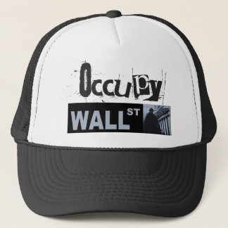 Occupy wall streetの帽子 キャップ