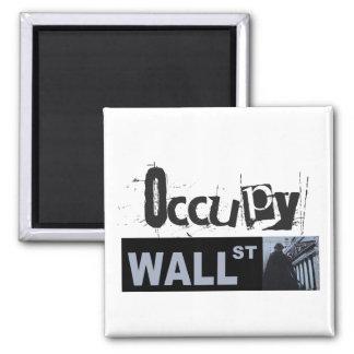 Occupy wall streetの磁石 マグネット