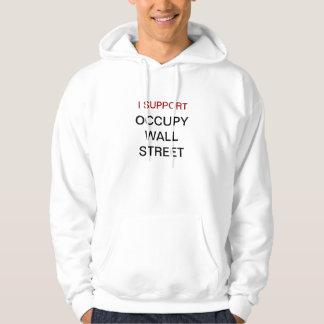 Occupy wall streetのTシャツのフード付きスウェットシャツのスエットシャツ パーカ