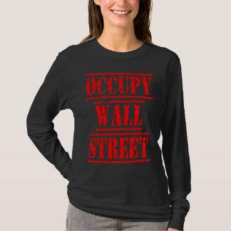 Occupy wall streetのTシャツ Tシャツ