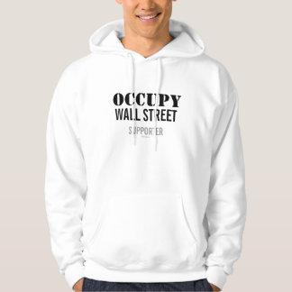 Occupy wall streetサポータフード付きスウェットシャツ パーカ