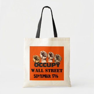 OCCUPY WALL STREET トートバッグ