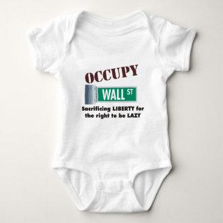occupy wall street ベビーボディスーツ