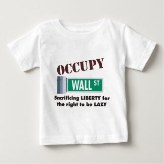 occupy wall street ベビーTシャツ