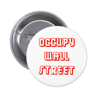 """Occupy wall street""ボタン 5.7cm 丸型バッジ"