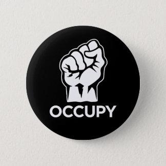 Occupy wall street -私達は99%才です 缶バッジ