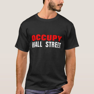 OCCUPY WALL STREET Tシャツ