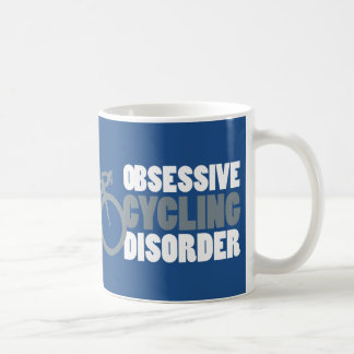 OCDのサイクリングのマグ コーヒーマグカップ