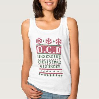 OCDの執拗なクリスマスの無秩序 タンクトップ