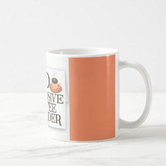 OCDの執拗なコーヒー無秩序のコーヒー・マグ コーヒーマグカップ