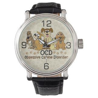 OCDの執拗な犬の無秩序 腕時計
