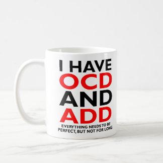 OCDはおもしろマグカップを加え、 コーヒーマグカップ