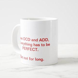 OCDはマグを加え、 ジャンボコーヒーマグカップ
