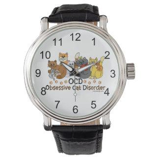 OCD執拗な猫の無秩序 腕時計