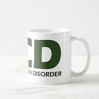 OCD -執拗なナマズの無秩序 コーヒーマグカップ
