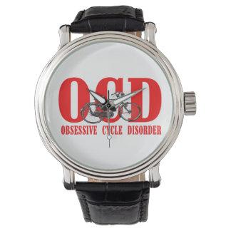 OCD-OBSESSIVE周期の無秩序の人の腕時計 腕時計