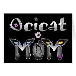Ocicatのお母さんのギフト カード