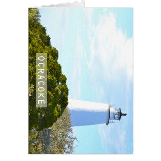 Ocracokeの島 カード