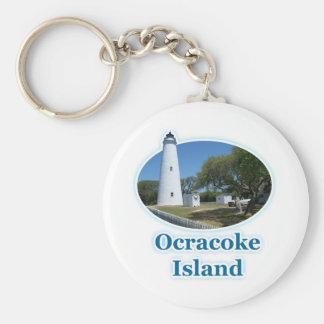 Ocracokeの島、ノースカロライナ キーホルダー