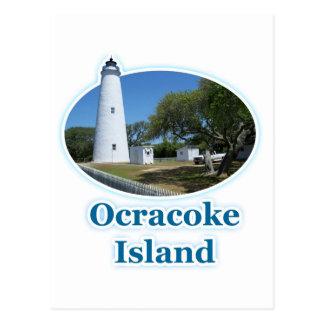 Ocracokeの島、ノースカロライナ ポストカード