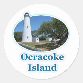 Ocracokeの島、ノースカロライナ ラウンドシール