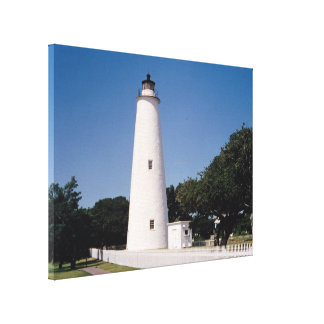 Ocracokeの灯台 キャンバスプリント