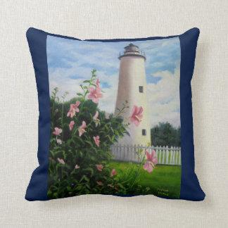 Ocracokeの灯台 クッション