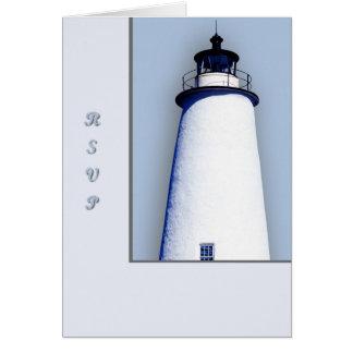 Ocracokeの灯台 グリーティングカード