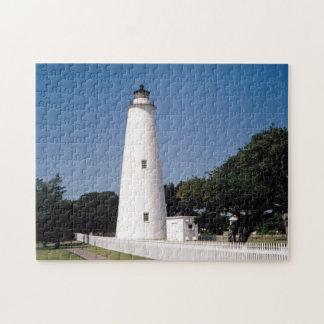 Ocracokeの灯台 ジグソーパズル