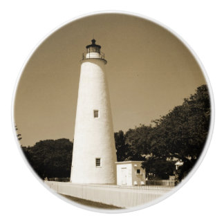 Ocracokeの灯台 セラミックノブ
