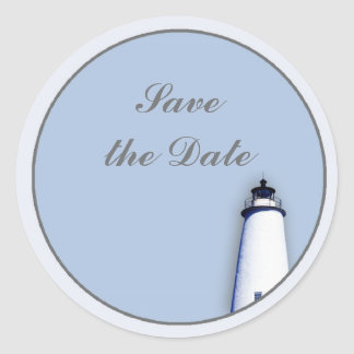 Ocracokeの灯台 ラウンドシール