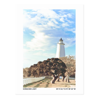 Ocracokeライト ポストカード
