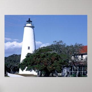 Ocracoke Lighth ポスター