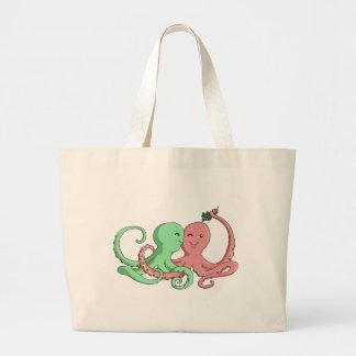 Octiのヤドリギ ラージトートバッグ