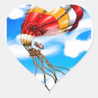 Octo気球 ハートシール