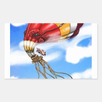 Octo気球 長方形シール