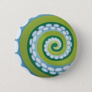 Octo螺線形: 藻 5.7cm 丸型バッジ