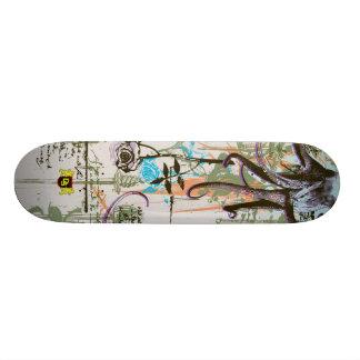 Octo 18.1cm オールドスクールスケートボードデッキ