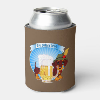 Octoberfestのダックスフントのクーラーボックス 缶クーラー