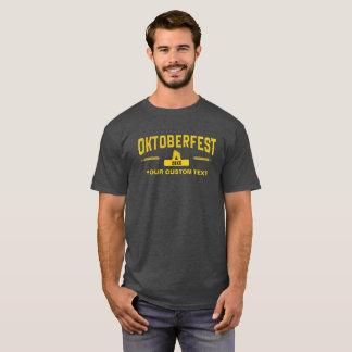 Octoberfest 2017のクールなヴィンテージのスタイルのカスタムの文字 tシャツ