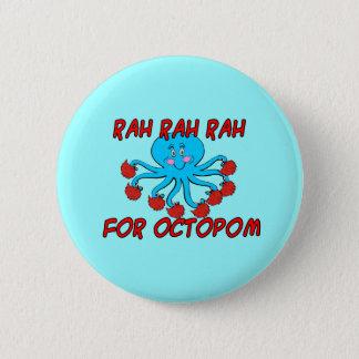 Octopomのための応援 缶バッジ
