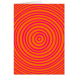 Oddisphereのピンクのオレンジ目の錯覚 カード
