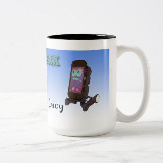 Oddwerx Ikeおよびルーシーのマグ ツートーンマグカップ
