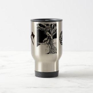 Odinのバイキングの神のステンレス鋼のタンブラー トラベルマグ