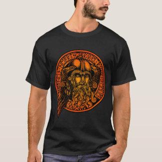 OdinのワイシャツのRunes Tシャツ