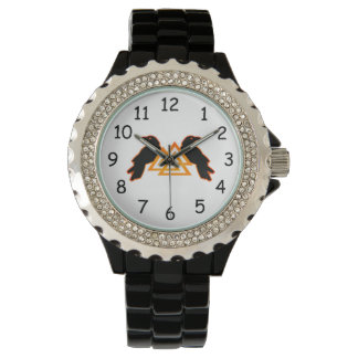 Odinのワタリガラスの腕時計 腕時計