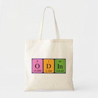 Odinの周期表の名前のトートバック トートバッグ