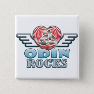 Odinの石 5.1cm 正方形バッジ