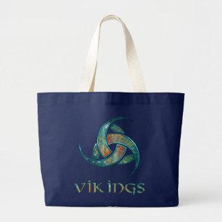 Odinの角のバッグ ラージトートバッグ