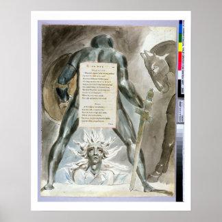 「Odinの降下」は、「詩oからの81を設計します ポスター